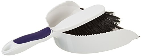Rubbermaid Comfort Grip Duster and Dustpan Set (FG6C0100) (Rubbermaid Dust Pan compare prices)
