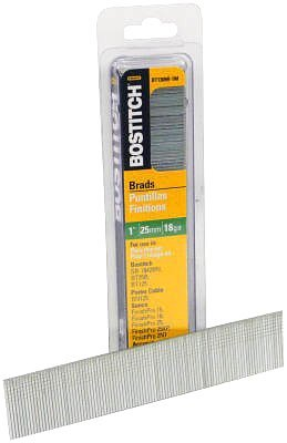 Bostitch BT1350B-1M 2-Inch 18-Gauge Brads, 1,000-Qty.