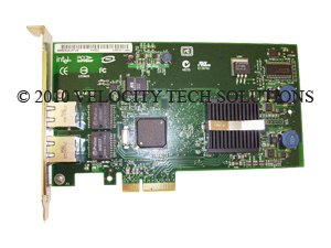 Dell XF111 PCI-E Dual Port 10/100/1000 Network Interface Card NIC