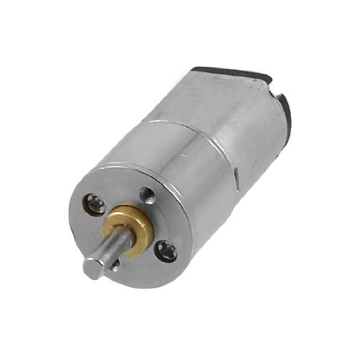 Water & Wood Replacement 3Mm Shaft Dia Dc 6V 300Rpm 0.4A 16Ga Electric Geared Motor