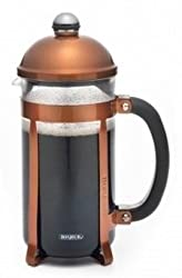 BonJour 8 Cup Maximum French Press in Bushed Copper Finish from BonJour