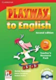 Playway to English Level 3 Teachers Resource Pack with Audio CD