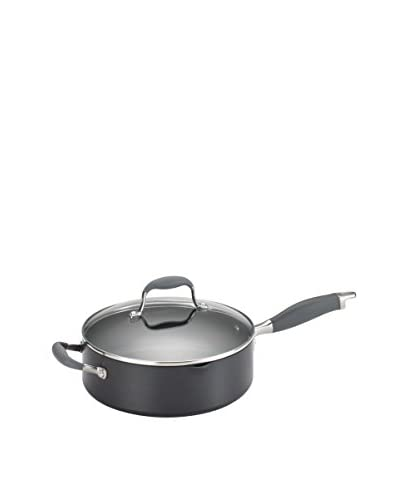 Anolon Advanced Hard-Anodized Nonstick 4-Qt. Covered Sauté Pan, Grey