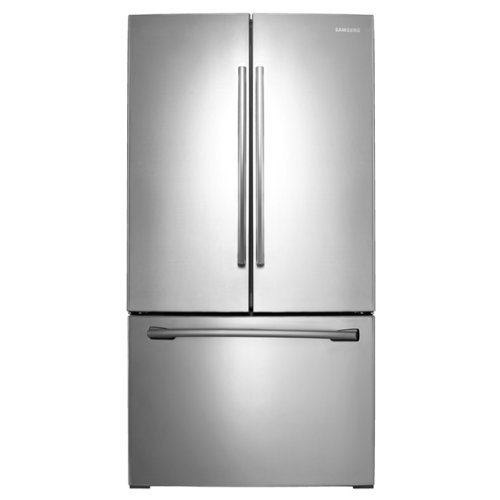 Samsung RF261BEAESR 25.5 Cu. Ft. Stainless Steel French Door Refrigerator - Energy Star (Samsung Freeze compare prices)