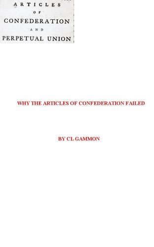 Why the Articles of Confederation Failed PDF