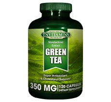 Green Tea Capsules 350 Mg - 120 Capsules