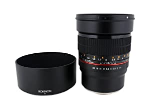 Rokinon 85mm F1.4 Aspherical Lens