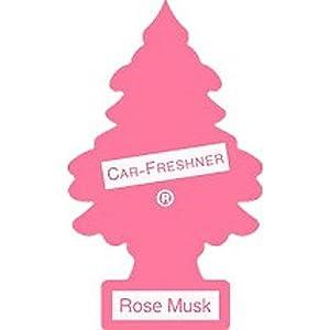 CAR FRESHNER TREES 10227 ROSE MUSK TREE