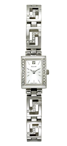 Accurist Stone Set Ladies Bracelet Watch - LB627