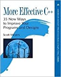 More Effective C++ 1st (first) edition Text Only