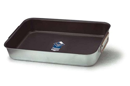 Fasa - 050024045 Tegame Rett. Alluminio Teflon Platinum Plus 3 Mm Cm 45X30
