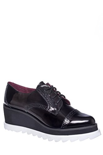 Harper Mid Wedge Oxford Shoe