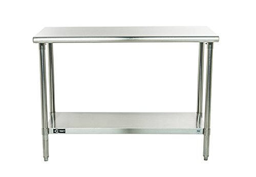 TRINITY EcoStorage NSF Stainless Steel Table, 48-Inch (Island Tables compare prices)