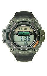 Casio Sports Gear Twin Sensor Grey Dial Men's Watch #SGW-300HB-3AV