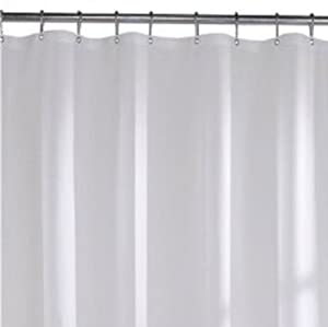 Extra Long Size Vinyl Shower Curtain Liner 72 39 39 Wide X 78 39 39 Long Beige
