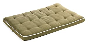 "Bowsers Luxury Dog Crate Mattress, Avocado, XXL 30""x48""x3"" by Bowsers"