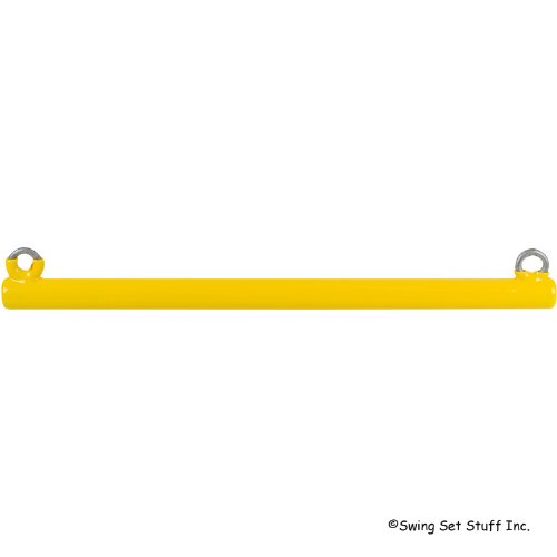 Commercial Coated Trapeze Bar (Yellow) With Sss Logo Sticker