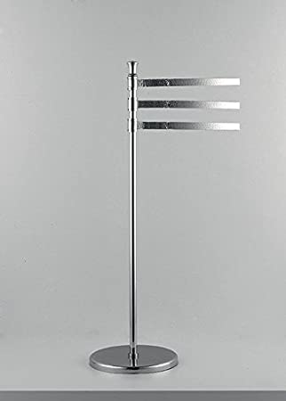 Lampadaire lente H.85cm serviette de douche Accessoires WC salle de bain Produit italien style classique