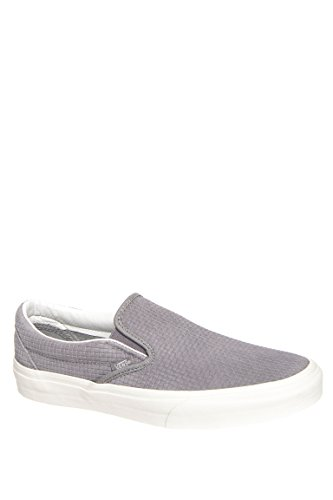Men's Classic Braided Suede Slip-On Sneaker
