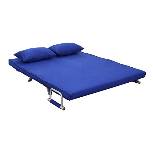 HomCom Folding Futon Sleeper Sofa Bed
