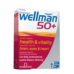 Vitabiotic Wellman 50+ 30 Tablets x 1 by Vitabiotic