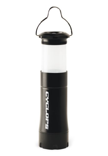 Cyclops Apollo Xp 200 Lumen Flashlight/Lantern, Black
