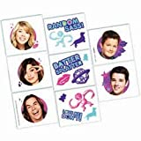 iCarly Temporary Tattoos 16 Pack