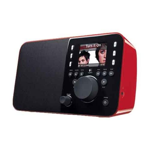 Comparer LOGITECH SQUEEZEBOX RADIO ROUGE