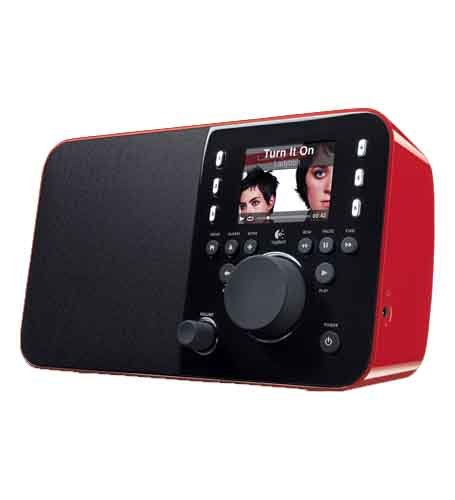 Logitech Squeezebox Radio - Red