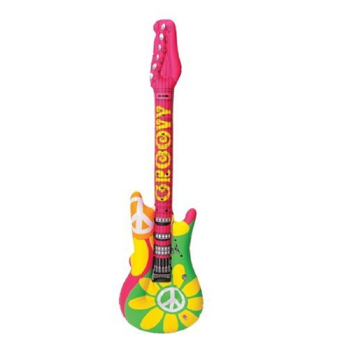 One Retro Inflatable Rock Guitar 40
