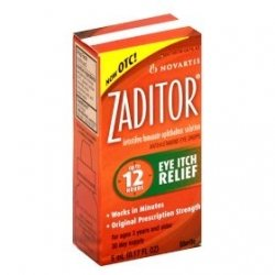 Zaditor Eye Itch Relief