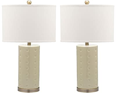 Safavieh Lighting Collection Roxanne Navy Table Lamp