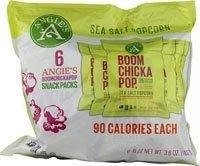 Angies Artisan Treats Boomchickapop Popcorn Sea Salt -- 6 Bags (Angies Popcorn Seasalt compare prices)
