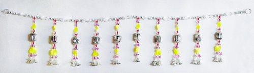 DollsofIndia Bead Door Toran - (Decorative Door Hanging) - Beads - B00LD5IWO2  sc 1 st  Cheapest in India & DollsofIndia Bead Door Toran - (Decorative Door Hanging) - Beads ...