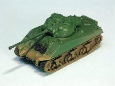 イギリス軍 ファイアフライ 中戦車  単色迷彩(ダークグリーン)
