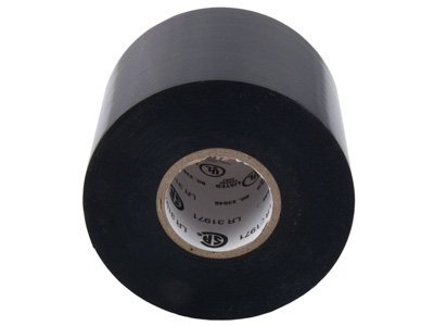 Secure 2 Inch Premium Black Electrical Tape - 44 Feet