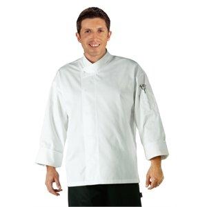 """Orlando Unisex White Chefs Tunic Polycotton. Colour: White. Size: Xl (To Fit Chest 48-50"""")."""