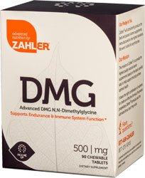 Zahlers Kosher Advanced Dmg 500 Mg. - 90 Chewable