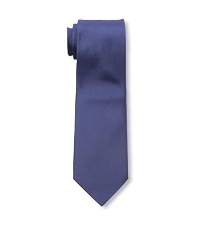 Valentino Men's Woven Jacquard Tie, Navy