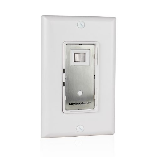 Skylink WE-001 600W Wall Switch Receiver, Easy Installation without Neutral Wire