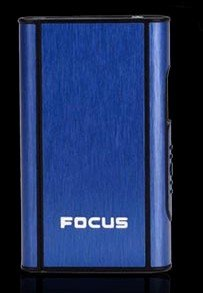 Stylish FOCUS 10 pack Cigarette Case Dispenser (BLUE COLOR)- FOR KING SIZE CIGARETTES (GD-1331-13 , FREE CAR sticky pad for Phone PDA MP3 MP4) (Blue Cigs Electronic Cigarette compare prices)