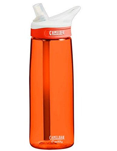 Camelbak Eddy Bottle .75L Lava Colors Camelbak Eddy Water Bottle BPA-FREE (Camelbak Replacement Parts Lid compare prices)