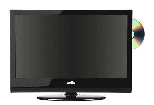 Cello 19-inch LCD TV/DVD Black C1997F