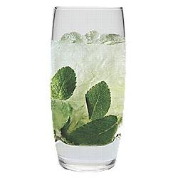 LivingQuarters Bellagio Set of 4 Cooler Glasses