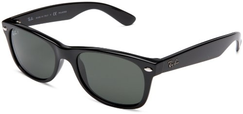 Wayfarer Sunglasses Black Frame Polarized