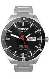 Tissot Men's T0444302105100 PRS 516 Black Day Date Dial Watch