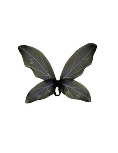 Costume-Accessory Wings Fairy Blue Black Halloween Costume Item - 1 size