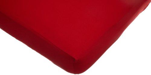 Imagen de American Baby Compañía Cuna Knit Jersey Hoja, Rojo