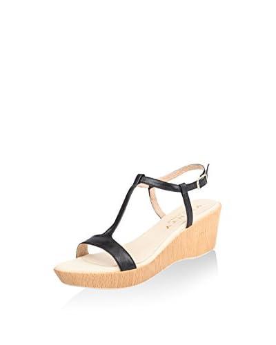 Vienty Sandalo Zeppa [Cuoio]