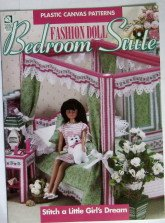 Fashion Doll Bedroom Suite (Plastic Canvas Patterns)